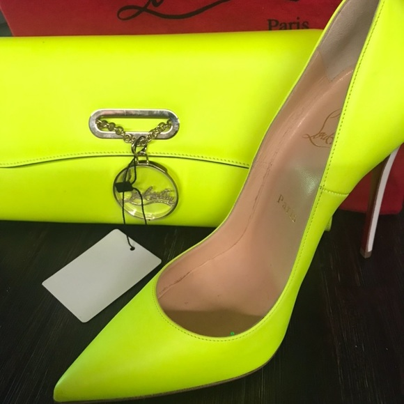 outlet store 60071 3c6b0 ❌❌ Neon yellow SO KATE !!!!❌❌